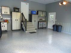 Concrete Floor coatings on garage in Ottawa