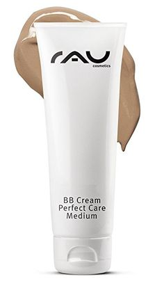 RAU BB Cream Perfect Care Medium 75 ml/Facial Care and Makeup in one/for Cover Care and UV Protection – With Zinc And Vitamin E Bb Cream, Skin Cream, Vitamin E, Facial Care, Medium, Make Up, Woman, Cover, Top