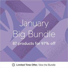 Creative Market January Big Bundle