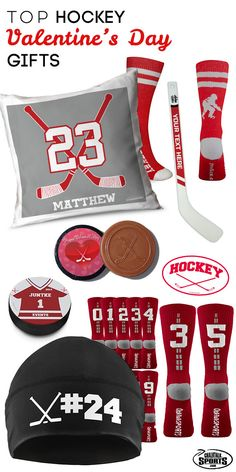 Have an important hockey player in your life? Shop our collection of hockey Valentine's Day gifts to find something extra special for them! We have a variety of products from pillows to pucks, and we even offer leggings for your favorite hockey girl! Get all of these great products and more at chalktalksports.com