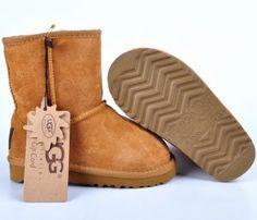 UGG kids Boots 5281 classic short Chestnut Sale $62