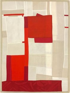 """Love this dazzling piece of contemporary art using vintage silk by Debra Smith, """"Shifting Vision pieced vintage silk, 18 x 15 in. Available at Markel Fine Arts. Nyc Art, Contemporary Abstract Art, Modern Art, Shape Crafts, Textiles, Vintage Kimono, Silk Fabric, Textile Art, Fiber Art"""