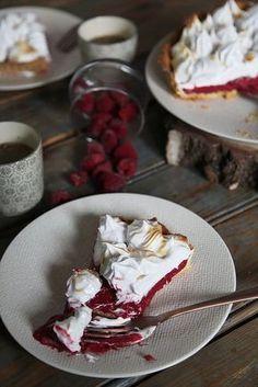 Tarte framboise meringuée   recettes faciles pour gourmands compulsifs