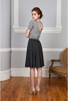 Nonoo AW12. I like this shirt. It's simple and elegant and comfy. Via Honey Kennedy.