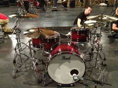 Chad Smiths Reference pure Pearl kit