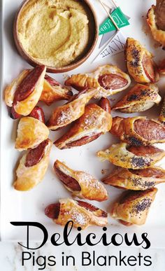 Pigs in Blankets recipe. Perfect for Super Bowl party!