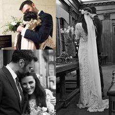 Stone Fox Bride, love the dress