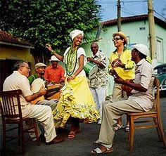 1º Festival de Cultura Popular de Tanhaçu dias 29 e 30 de maio de 2010: Samba de Roda.