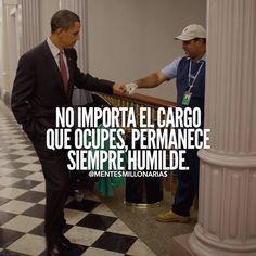 La humildad es lo que hace importante a las personas