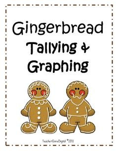 This activity packet is used with gingerbread men cookies. Student decorate a paper gingerbread man. Then they are given a gingerbread man cookie and told to take one bite only! Students circle the part of the gingerbread man that they bit off and this is used to gather classroom data for the tally chart.