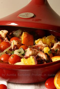 Tajine di polpo all'arancia 3 by Profumi in cucina, via Flickr