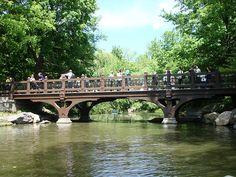 Central Park: Bank Rock Bridge