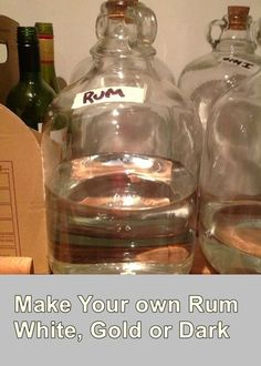 Follow this tutorial to make your own rum white, gold or dark. Home brewing of alcoholic beverages has become more and more popular these days.