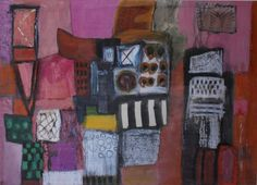 Anthony Levett Prinsep - 'Abstract' - an original painting in mixed media
