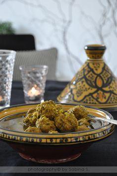 """Due bionde in cucina: """" Tajine di kefta"""" polpettine marocchine alle erbe"""