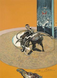 Francis Bacon and Michel Leiris, 'Miroir de la Tauromachie, 1990' - by Artcurial - Briest - Poulain - F. Tajan #editions #prints #contemporary