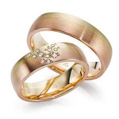 Karikagyűrű, eljegyzési gyűrű, esküvő, ékszerek, láncok, arany - Schmuck Ékszer