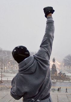 «Tous les champions ont un jour été prétendant, refusant d'abandonner» Rocky Balboa (Sylvester Stallone)