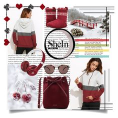 """""""shein"""" by perfex ❤ liked on Polyvore featuring Oris, Disney, Foamtreads, Mansur Gavriel, Beats by Dr. Dre and Oliver Peoples"""