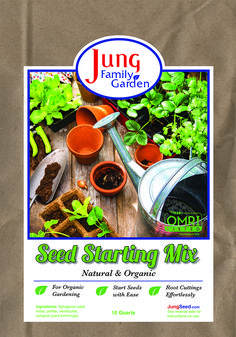 Jung Soilless Seed Starting Mix - National Garden Bureau - Help your seedlings get a healthy start. Ideal for all kinds of plant starts in trays, soil blocks, or small containers. This light, soilless Garden Soil, Garden Seeds, Bucket Gardening, Florida, Weed Seeds, Peat Moss, Family Garden, Growing Seeds, Types Of Soil