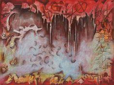 acrilico sobre  lienzo 90x120cm rafael ordoñez  franco