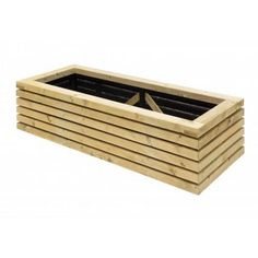 This contemporary planter from Grange looks great and is perfect for planting vegetables or herbs in smaller gardens, decks or patios. #GrowYourOwnVeg