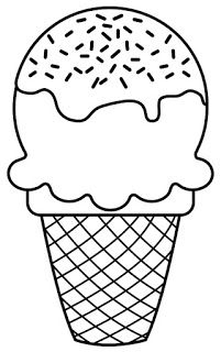Cupcakes, sorvetes, bolos e doces (Cupcakes, ice creams, cakes and sweets) Ice Cream Coloring Pages, Easy Coloring Pages, Cartoon Coloring Pages, Coloring Pages For Kids, Coloring Sheets, Coloring Books, Free Printable Coloring Pages, Drawing For Kids, Painting For Kids