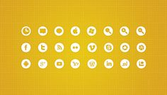 100+ Icons for web design projects