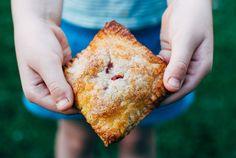 Kid-Made Recipe: Cherry Cream Cheese Hand Pies Fruit Hand Pies, Cherry Hand Pies, Fruit Recipes, Dessert Recipes, Cooking Recipes, Kid Recipes, Delicious Deserts, Mini Pies, Pie Dessert
