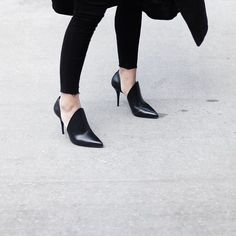 All black everything in #AlexanderWang heels @livingthegrey #TheThrillOfTheFind…