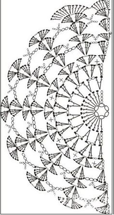 diagram, no pattern KENDŐ, it really is a clutch pattern but as a pinner pointed out ~ it can be a shawl pattern.nice and easy! Hmmm Shawl to go wiTry it as a crochet sleeve on a tank top.I love crochet patterns that make mathematical sense! Crochet Wrap Pattern, Crochet Motifs, Crochet Diagram, Crochet Stitches Patterns, Crochet Poncho, Crochet Chart, Crochet Scarves, Crochet Doilies, Crochet Lace