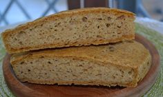 Pane mais, riso e miglio bruno