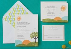 Hello Lucky letterpress and social stationery | via PaperLush.com