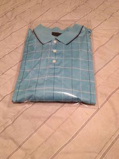 Men's Tasso Elba GOLF Polo Shirt - Double Mercerized Cotton - Size XL #TassoElbaGOLF #PoloRugby