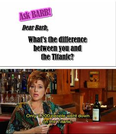 Cougar Town. Barb. xD