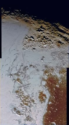 Second Mountain Range in Pluto's 'Heart' in Virtual Color! Friends of NASA