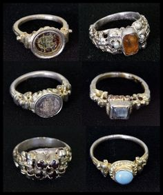 Hungarian, 17th century, Rings.
