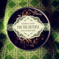 For The Defense 3oz Tea Tins from The Random Tea Room & Curiosity Shop for $12.00