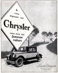 Chrysler  1926  chryslercustomercare bidvestautomotive co za     Chrysler  1926  chryslercustomercare bidvestautomotive co za   Chrysler  Corp  autos and the competition   Pinterest   Ads  Cars and Mopar