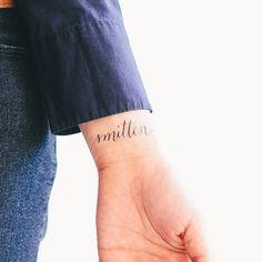 Smitten temporary tattoo from Tattly