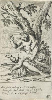 Odoardo Fialetti Venus spanking profane love