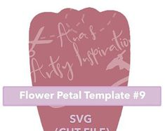 Paper Flowers Templates & more von AnasArtsyInspiration auf Etsy Flower Petal Template, Flower Petals, Paper Flowers, Artsy, Templates, Paper Envelopes, Things To Do, Flowers, Creative