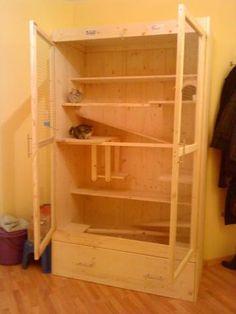 The right chinchilla cage has good ventilation. Url: http://chinchilla.co/