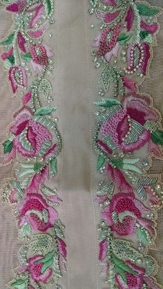 Zardozi Embroidery, Pearl Embroidery, Tambour Embroidery, Couture Embroidery, Indian Embroidery, Brazilian Embroidery, Silk Ribbon Embroidery, Beaded Embroidery, Embroidery Stitches