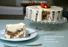 SORVETÃO DE BIS COM 3 INGREDIENTES - Uma das sobremesas mais deliciosas que já…