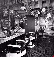 The Barbershop onboard
