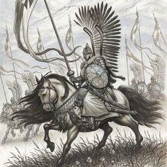 Crossing the Tatras? Polish Tattoos, Character Art, Character Design, Der Joker, Poland History, Crusader Knight, Landsknecht, Bristol Board, Military Art