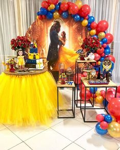 @kamilabarreiratiengo . . . . #decoracao_inspiracoes #festabosque #festabosquemenina #festainfantil #festademenina #horadeapagaravelinha… Beauty And Beast Birthday, Beauty And The Beast Theme, Beauty And Beast Wedding, Beauty And The Best, Disney Beauty And The Beast, Princess Belle Party, Princess Sofia Birthday, Girls Birthday Party Themes, Birthday Celebration