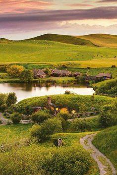HOBBITON, pueblo mágico en el poblado de Matamata en Nueva Zelanda! ✈