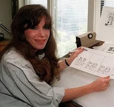 lefty cartoonist Cathy Guisewite. happy birthday